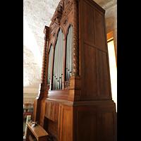 La Habana (Havanna), Auditorio San Francisco de Paula, Orgel seitlich