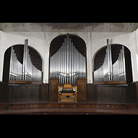 Santiago de Cuba, Auditorio Nuestra Señora de los Dolores, Orgel mit Spieltisch