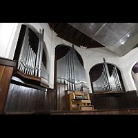 Santiago de Cuba, Auditorio Nuestra Señora de los Dolores, Orgel seitlich