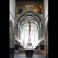 Ravensburg, Kath. Stadtkirche Liebfrauenkirche (Hauptorgel), Chorraum