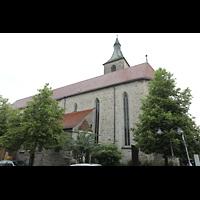 Ravensburg, St. Jodok, Außenansicht seitlich