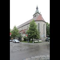 Ravensburg, St. Jodok, Chor mit Turm