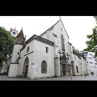 Ravensburg, Kath. Stadtkirche Liebfrauenkirche (Hauptorgel), Westfassade