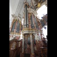 Weingarten, Basilika St. Martin - Große Orgel, Linker Teil der Hauptorgel