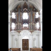 Weingarten, Basilika St. Martin - Große Orgel, Große Orgel seitlich
