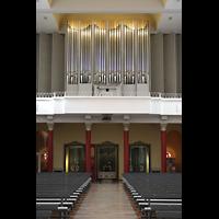 Konstanz, St. Gebhard (Konzilsorgel), Orgelempore