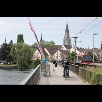 Konstanz, Münster unserer lieben Frau, Blick vom Sternenplatz zum Münster