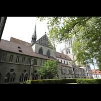 Konstanz, Münster unserer lieben Frau, Münsterplatz mit Münster