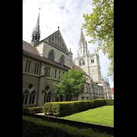 Konstanz, Münster unserer lieben Frau, Seitenansicht mit Turm