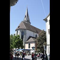 Konstanz, St. Stefan, Außenansicht von der Wessenbergstraße aus