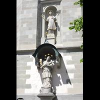 Konstanz, St. Stefan, Figuren am Chor