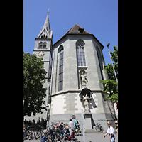 Konstanz, St. Stefan, Chor mit Turm