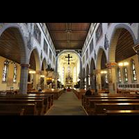 Konstanz, St. Stefan, Innenraum in Richtung Chor