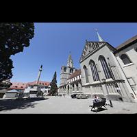 Konstanz, Münster unserer lieben Frau, Außenansicht von der Südseite