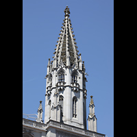 Konstanz, Münster unserer lieben Frau, Neugotischer Turmhelm