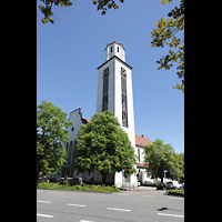 Konstanz, St. Gebhard (Konzilsorgel), Außenansicht mit Fassade