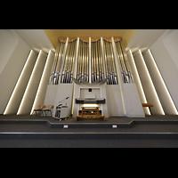 Konstanz, St. Gebhard (Konzilsorgel), Orgel mit Spieltisch