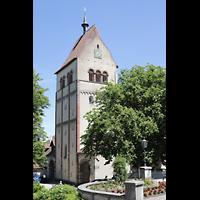 Reichenau - Mittelzell, Münster St. Maria und Markus, Turm von Süden