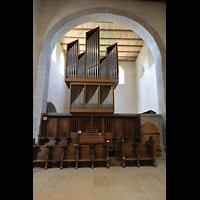 Reichenau - Mittelzell, Münster St. Maria und Markus, Orgel, Nordseite (Manuale)