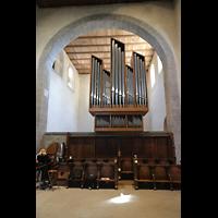 Reichenau - Mittelzell, Münster St. Maria und Markus, Orgel, Südseite (Pedal)