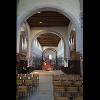 Reichenau - Mittelzell, Münster St. Maria und Markus, Ostchor mit Orgeln