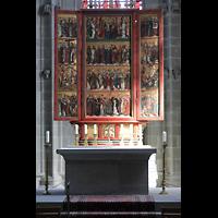 Reichenau - Mittelzell, Münster St. Maria und Markus, Gotischer Hochaltar von Rudolf Stahel (1498)