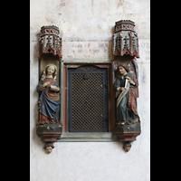 Reichenau - Mittelzell, Münster St. Maria und Markus, Wandfiguren im Ostchor