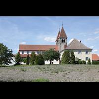 Reichenau - Niederzell, St. Peter und Paul, Seitenansicht von Süden