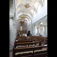 Reichenau - Niederzell, St. Peter und Paul, Innenraum in Richtung Chor