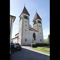 Reichenau - Niederzell, St. Peter und Paul, Doppelturmfassade