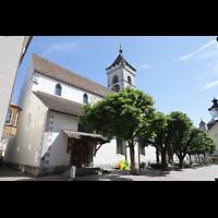 Schaffhausen, St. Johann, Fassade seitlich