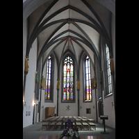 Schaffhausen, St. Johann, Chor