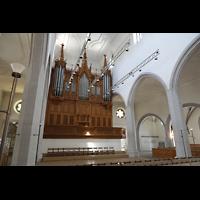 Schaffhausen, St. Johann, Orgel seitlich
