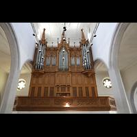 Schaffhausen, St. Johann, Orgelempore
