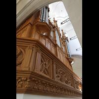Schaffhausen, St. Johann, Orgelempore seitlich