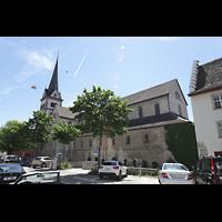 Schaffhausen, Münster (ehem. Kloster zu Allerheiligen), Außenansicht Nordseite