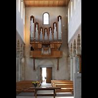 Schaffhausen, Münster (ehem. Kloster zu Allerheiligen), Orgelempore