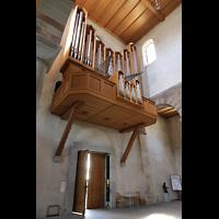 Schaffhausen, Münster (ehem. Kloster zu Allerheiligen), Orgelempore seitlich