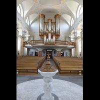 Frauenfeld, Kath. Stadtkirche St. Nikolaus, Orgelempore