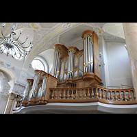 Frauenfeld, Kath. Stadtkirche St. Nikolaus, Orgel seitlich