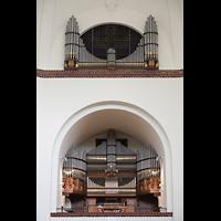 Berlin - Wilmersdorf, Maria unter dem Kreuz, Orgel
