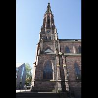 Bühl (Baden), Münster St. Peter und Paul (Chororgel), Turm seitlich