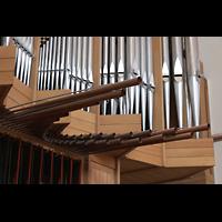 Bühl (Baden), Münster St. Peter und Paul (Chororgel), Spanische Trompeten seitlich