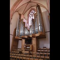 Bühl (Baden), Münster St. Peter und Paul (Chororgel), Rieger-Orgel seitlich