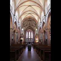 Bühl (Baden), Münster St. Peter und Paul (Chororgel), Innenraum in Richtung Chor
