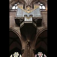 Freiburg, Münster unserer lieben Frau, Langhausorgel von Marcussen