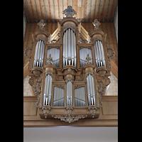 Basel, Predigerkirche (Schwalbennestorgel), Silbermann-Orgel