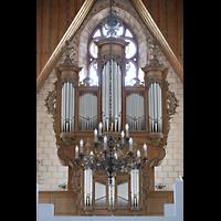Basel, Predigerkirche (Truhenorgel), Silbermann-Orgel