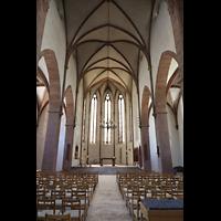 Basel, Predigerkirche (Schwalbennestorgel), Chorraum