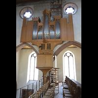Basel, Predigerkirche (Truhenorgel), Schwalbennest-Orgel